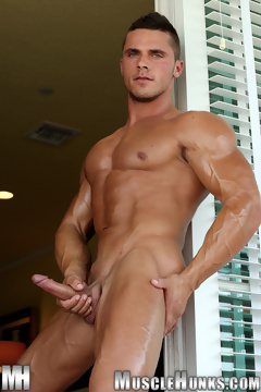 Joey Van Damme for Muscle Hunks